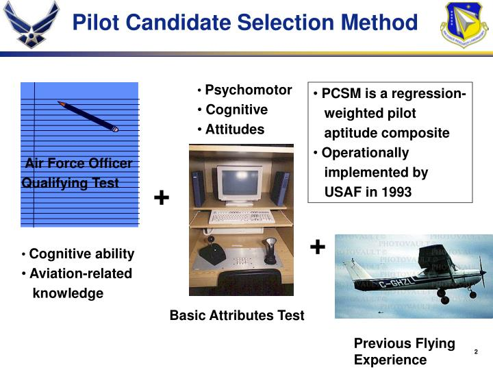 Pilot Candidate Selection Method