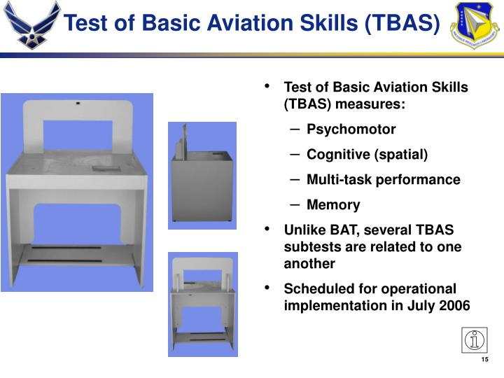 Test of Basic Aviation Skills (TBAS)