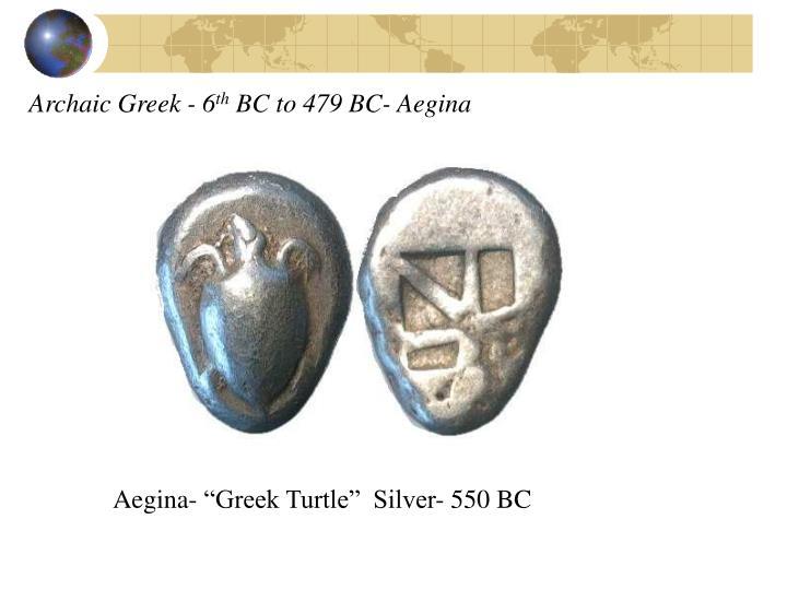 Archaic Greek - 6