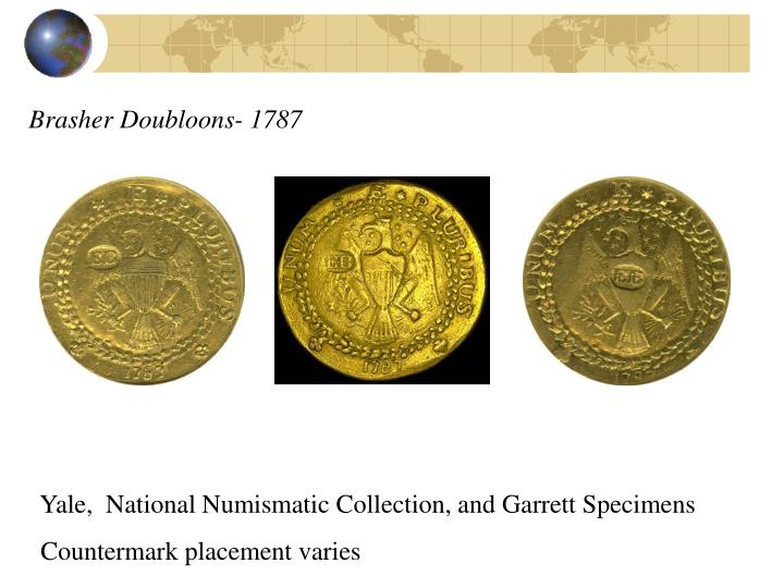 Brasher Doubloons- 1787