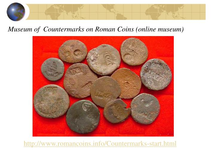 Museum of  Countermarks on Roman Coins (online museum)