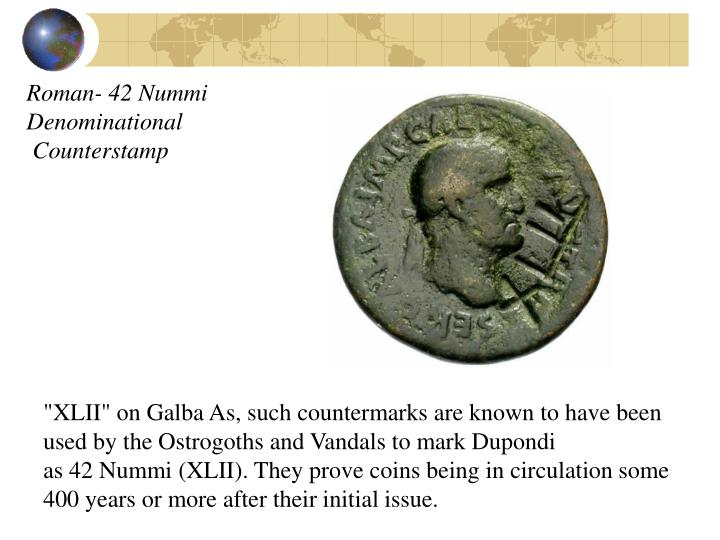 Roman- 42 Nummi