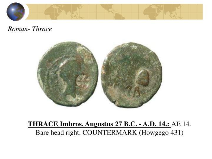 Roman- Thrace