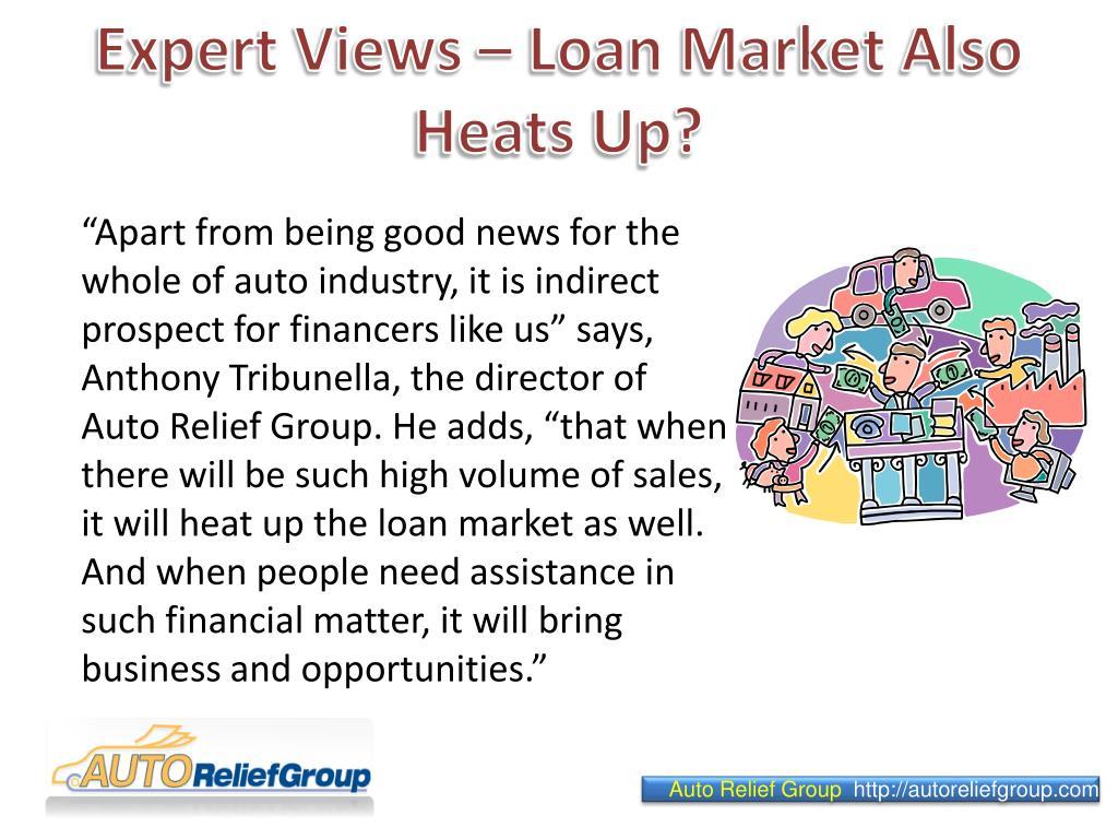 Expert Views – Loan Market Also Heats Up?