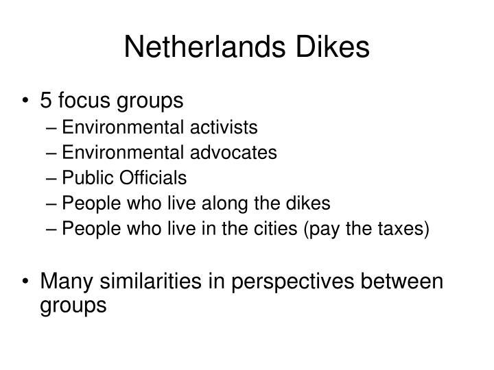 Netherlands Dikes