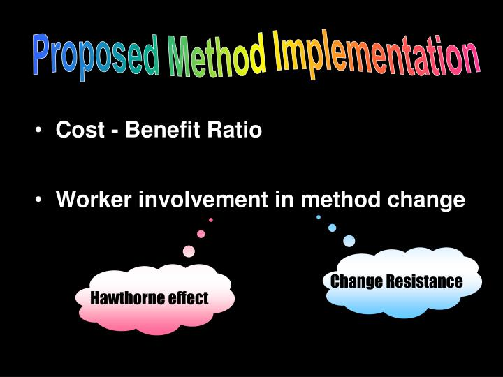 Proposed Method Implementation