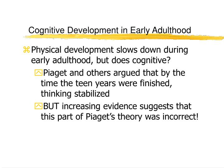 learning and cognitive development in teens essay