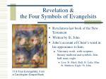 revelation the four symbols of evangelsits