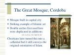 the great mosque cordoba