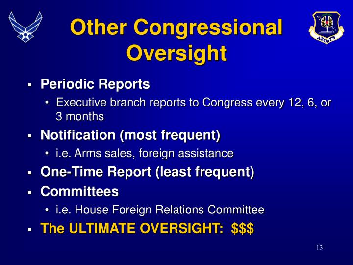Other Congressional