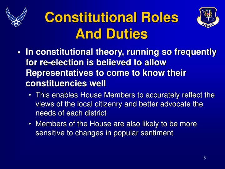 Constitutional Roles
