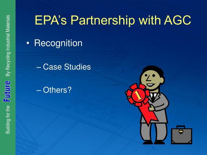 EPA's Partnership with AGC