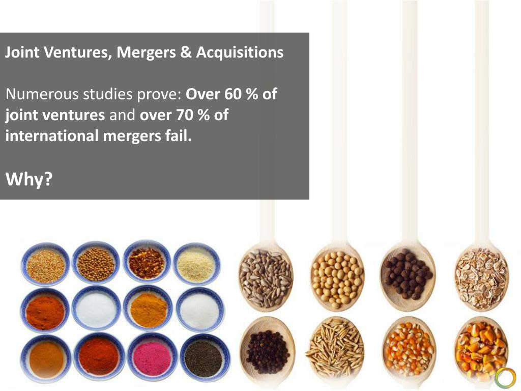 Joint Ventures, Mergers & Acquisitions