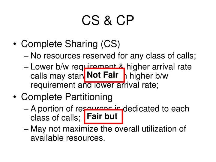 CS & CP
