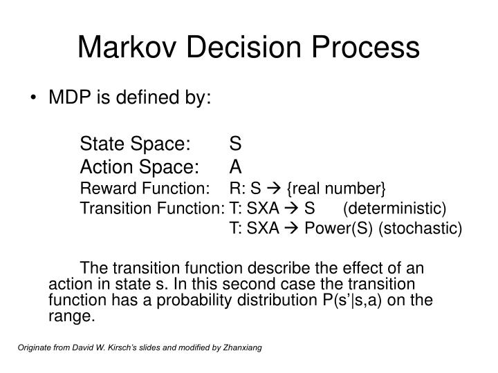 Markov Decision Process