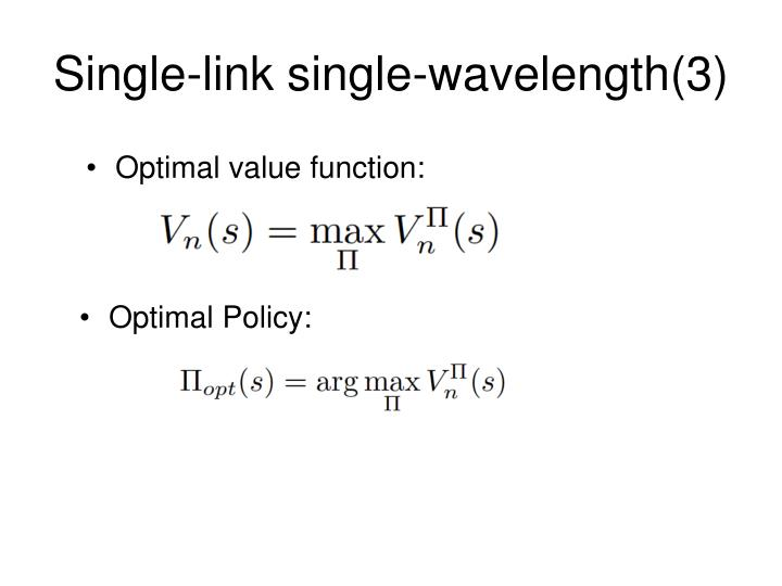 Single-link single-wavelength(3)