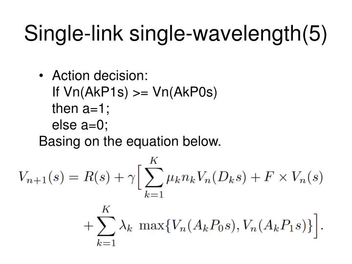 Single-link single-wavelength(5)