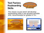 tool factory keyboarding skills1