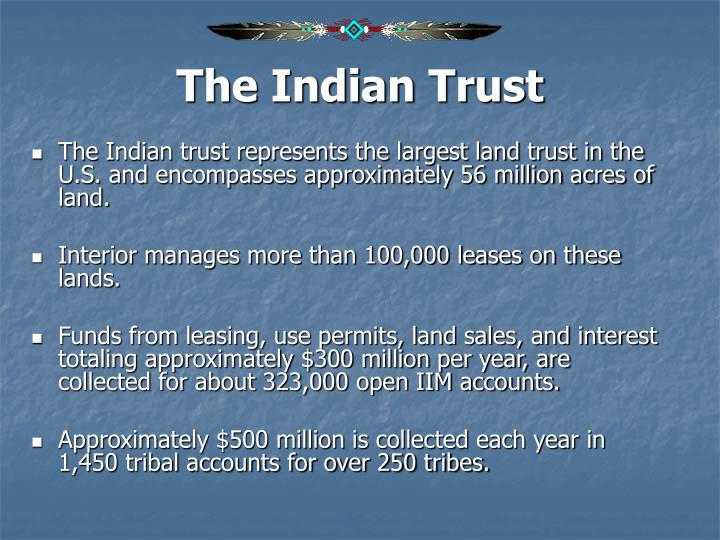 The Indian Trust