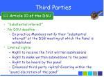 third parties