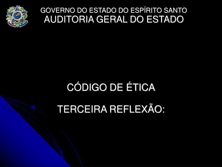 CDIGO DE TICA