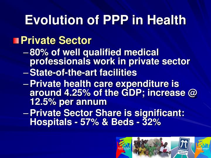 Evolution of PPP in Health