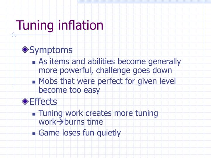 Tuning inflation