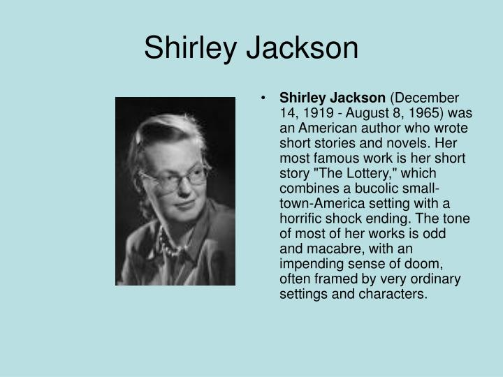 the lottery by shirley jackson surprise ending Whether you love or hate the lottery by shirley jackson, there is no  but it  makes the end of the story a realization rather than a surprise.