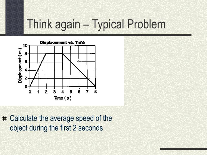 Calculate the average speed of the object during the first 2 seconds