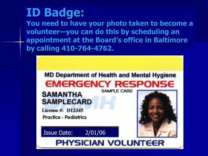 ID Badge: