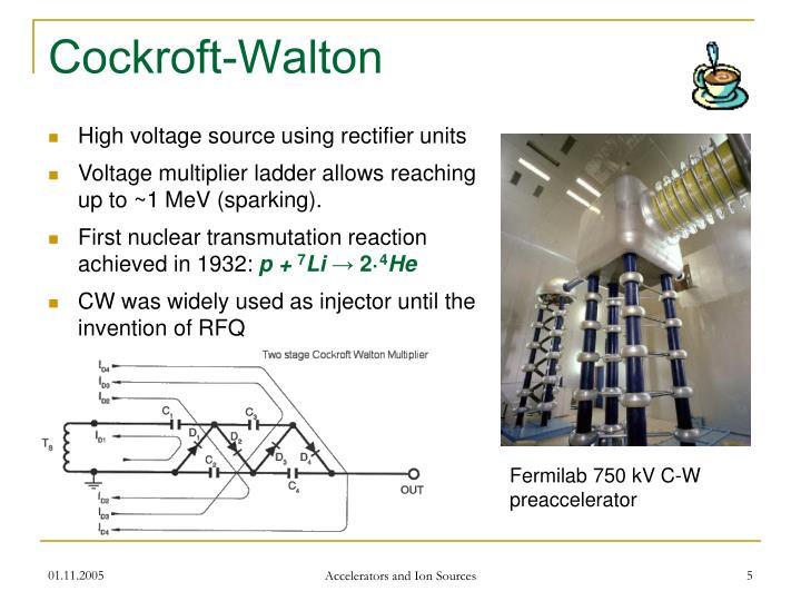 Cockroft-Walton