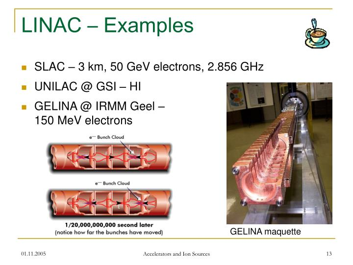 LINAC – Examples
