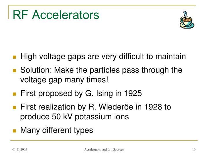 RF Accelerators