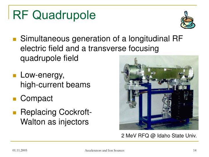 RF Quadrupole