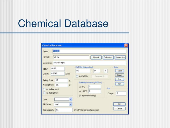 Chemical Database