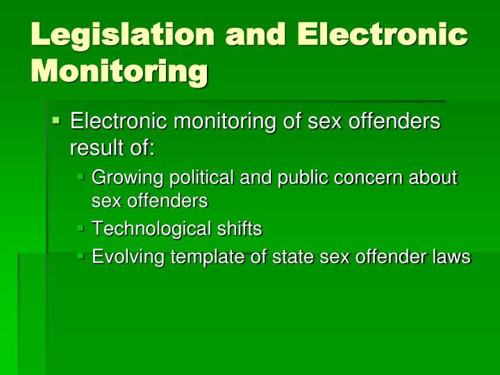 Legislation and Electronic Monitoring