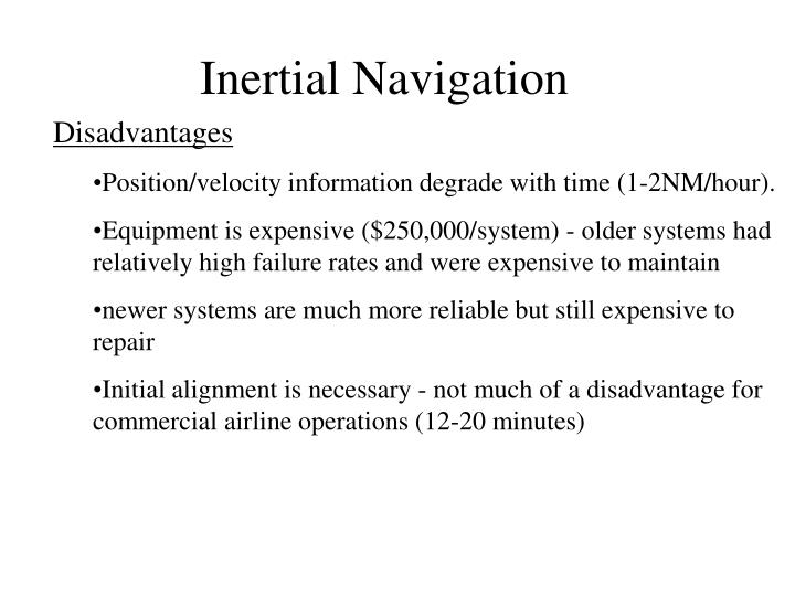 Inertial Navigation