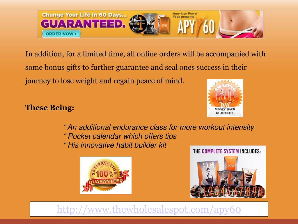 In addition, for a limited time, all online orders will be accompanied with some bonus gifts to further guarantee and seal ones success in their journey to lose weight and regain peace of mind.