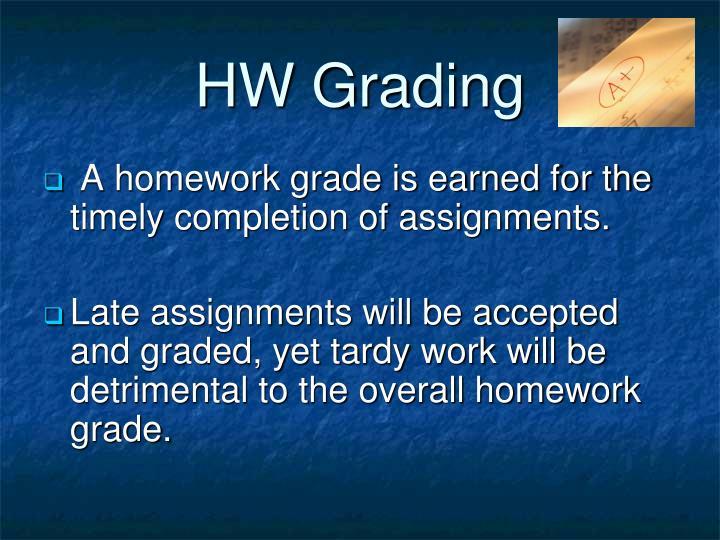 HW Grading