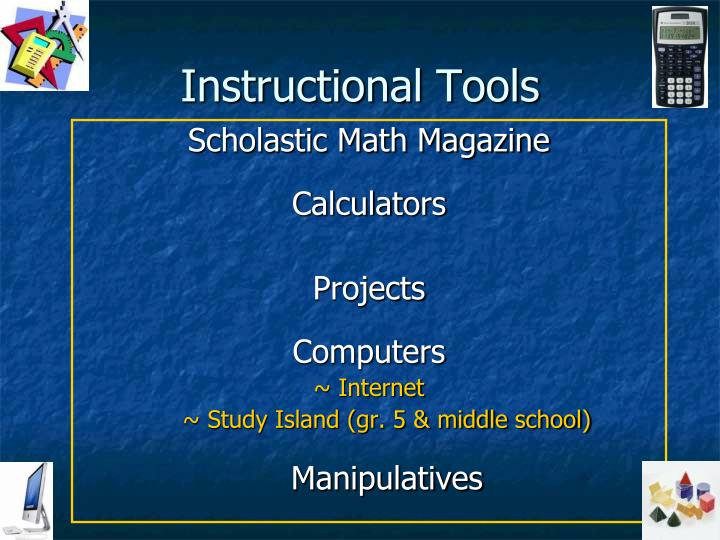 Instructional Tools