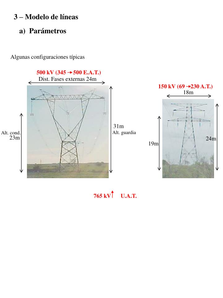 3 – Modelo de líneas