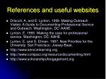 references and useful websites