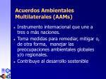 acuerdos ambientales multilaterales aam s