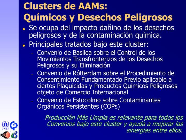 Clusters de AA