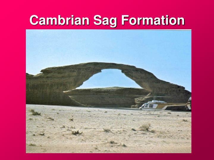 Cambrian Sag Formation