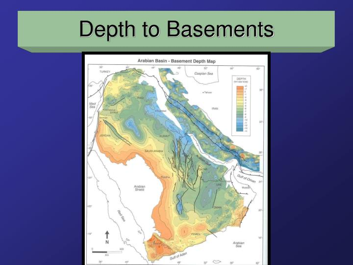 Depth to Basements