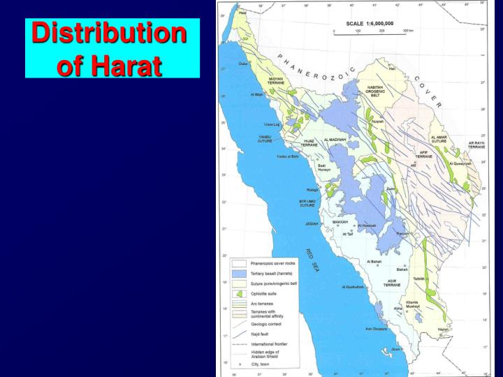 Distribution of Harat