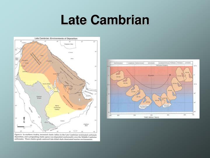 Late Cambrian