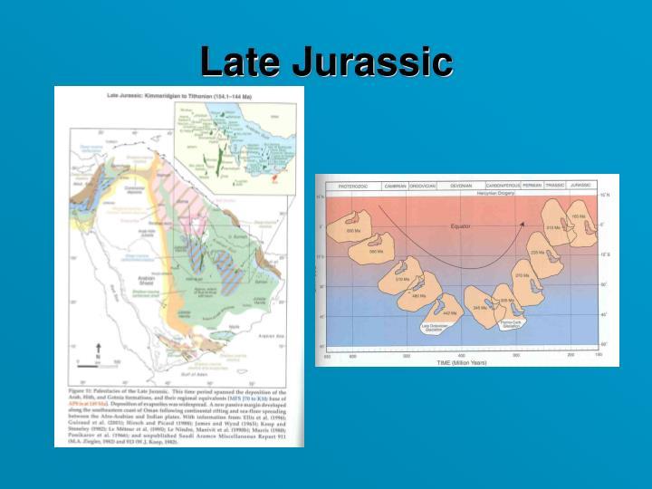 Late Jurassic