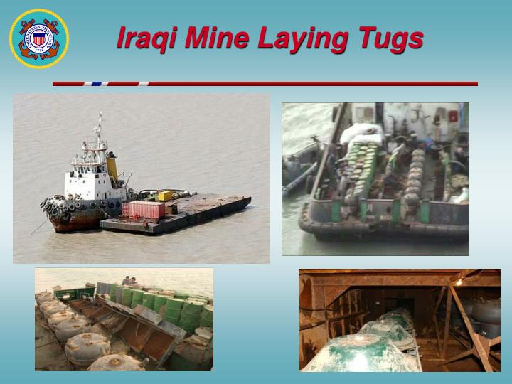 Iraqi Mine Laying Tugs